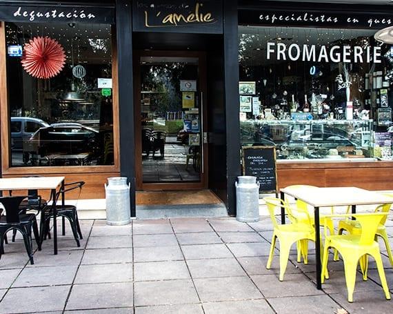 Cheese-Bar, terraza-Los quesos de Lámélie