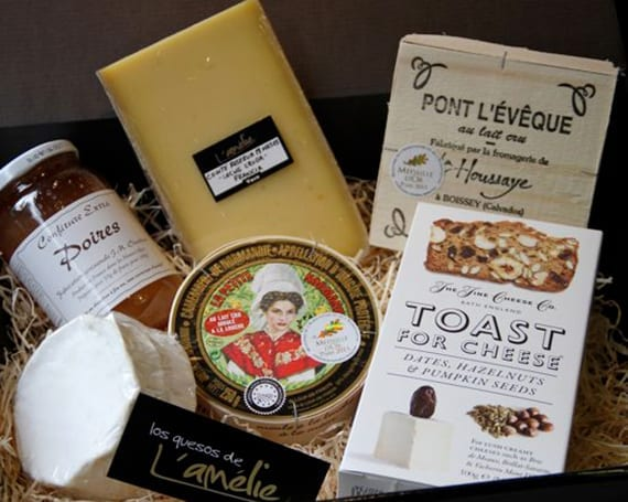 Los quesos de L'Ámélie-Cajas