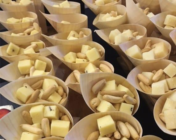 Catas y Eventos quesos L'Amélie. Cucuruchos