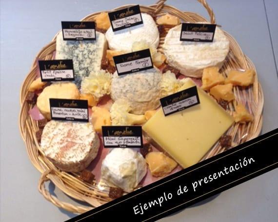 Cestas de Quesos de los quesos de L'Amélie