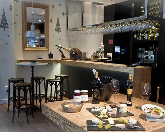 Cheese Bar Terraza. Los Quesos de L'Amélie