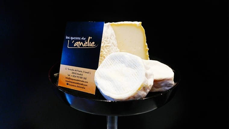 La tienda de L'Amélie, un mundo de quesos por descubrir
