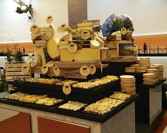 Mesa de quesos. Eventos a empresas. Los Quesos de L'Amélie